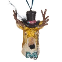 Cody Foster And Co Gent Stag Christmas Tree Decoration