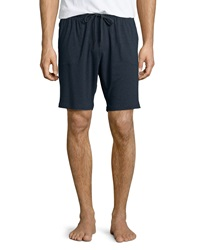 Derek Rose Jersey Lounge Shorts Charcoal