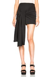 Stella Mccartney Tuxedo Cloth Peggy Skirt In Black