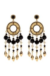 House Of Harlow Cuzco Chandelier Earrings Metallic