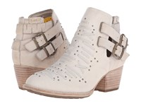 Caterpillar Casual Cheyenne Cloth Women's Pull On Boots White