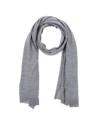 John Smedley Accessories Oblong Scarves Men Grey