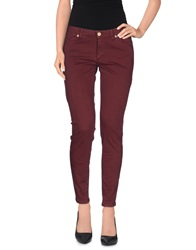 Superfine Casual Pants Deep Purple
