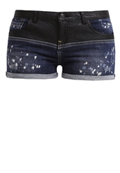 Ltb Loretta Denim Shorts Calista Wash Dark Blue