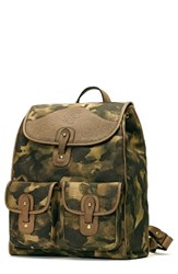 Ghurka Men's Blazer Backpack Green Green Camo