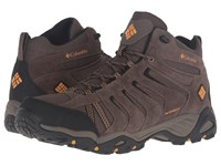 Columbia North Plains Ii Waterproof Mid Wide Mud Squash Men's Waterproof Boots Brown