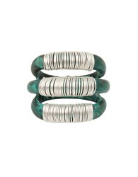 Robert Lee Morris Mothers Day Wire Wrapped Sculptural Multi Row Patina Ring