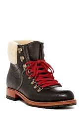 H.S. Trask And Co Lincoln Shearling Boot Black