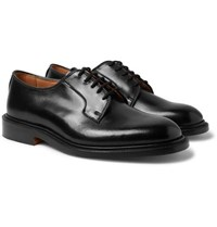 Tricker's Bobby Cordovan Leather Derby Shoes Black