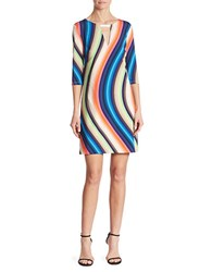 Trina Turk Bolero Jersey Dress Multicolored