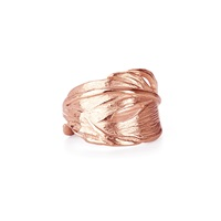 Chupi Swan Feather Ring Rose Gold