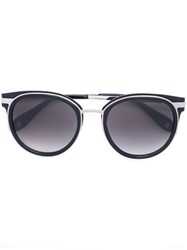 Carolina Herrera Round Sunglasses Black