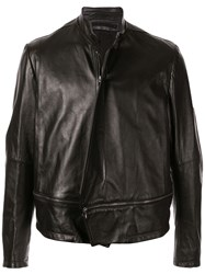 Julius Detachable Panel Leather Jacket 60