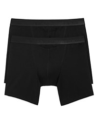 Hom Boxer Briefs Pack Of 2 Black
