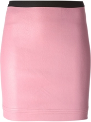 Helmut Lang Fitted Mini Skirt Pink And Purple