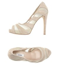 Guess Footwear Courts Women Beige