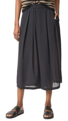 Vince Crossover Pull On Pants Black