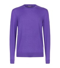Ralph Lauren Purple Label Cashmere Sweater Purple