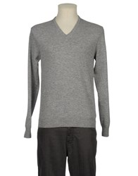 Become Knitwear V Necks Men Deep Jade