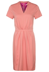 St Martins Stmartins Lea Summer Dress Tawny Orange Coral
