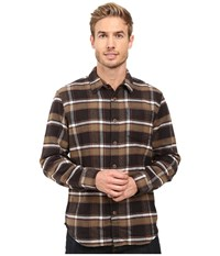 Prana Channing Flannel Charcoal Men's Clothing Gray