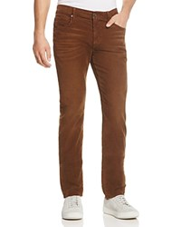 7 For All Mankind Adrien Slim Fit Corduroy Pants Teak
