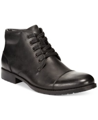 Unlisted Break Cover Cap Toe Boots Men's Shoes Black