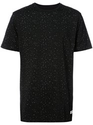 Stampd Printed T Shirt Women Cotton S Black