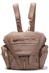 Alexander Wang Leather Backpack Light Brown