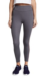 Splits59 Anchor Workout Leggings Dark Heather Grey Multi Stripe
