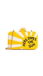 Alice Olivia Shirley Here Comes The Sun Large Clutch Multi