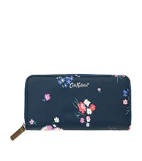 Cath Kidston Busby Bunch Floral Purse Blue