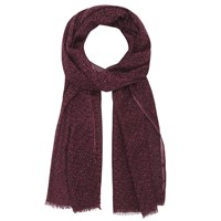 Gerard Darel Oxford Scarf Dark Red