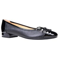 Geox Wistrey Breathable Ballet Pumps Black