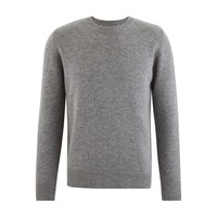 Majestic Wool And Cashmere Jumper Gris Chine