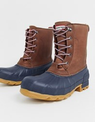 Hunter Insulated Pac Boot Brown
