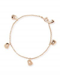 Mattioli Puzzle Trapezoid Charm Bracelet In 18K Rose Gold