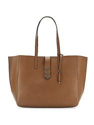 Mackage East Leather Tote Toffee