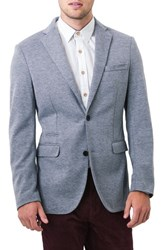 7 Diamonds Men's Crotone Casual Blazer Grey