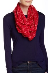 Collection Xiix Classic Valentine's Loop Scarf Red