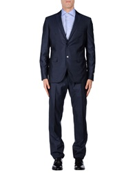 Belvest Suits Blue