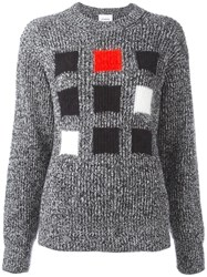 Iceberg Square Intarsia Jumper Grey
