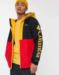 Columbia Timberturner Jacket In Red