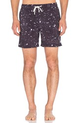 Globe Dye Die Pool Short Navy