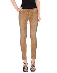 Cimarron Denim Denim Trousers Women Sand