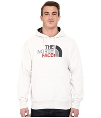 The North Face Half Dome Hoodie Vaporous Grey Asphalt Grey Multi Men's Long Sleeve Pullover White