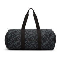 Stella Mccartney Black Monogram Eco Nylon Sport Bag