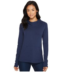 Fig Clothing Dublin Top Harbour Women's Long Sleeve Pullover Blue
