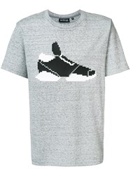 Mostly Heard Rarely Seen Sneaker T Shirt Grey