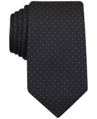 Perry Ellis Men's Austin Dot Classic Tie Black